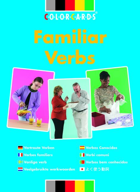 Colorcards - Familiar Verbs