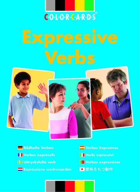 Colorcards - Expressive Verbs