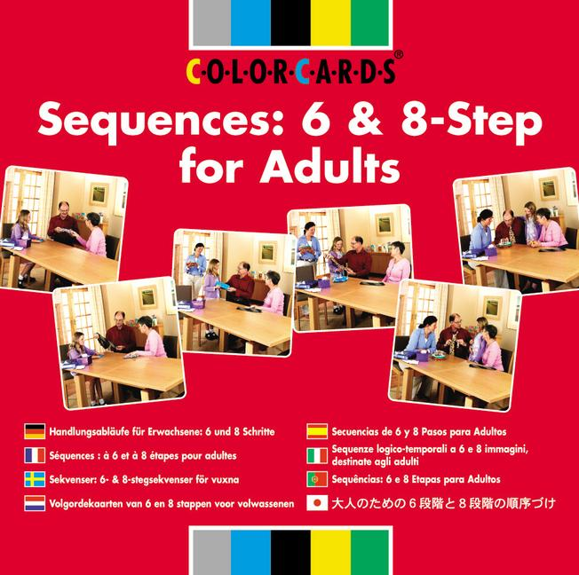 Colorcards - Sequences: 6 & 8-Step for Adults