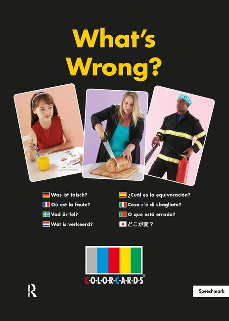 Colorcards - What's Wrong?: Revised edition