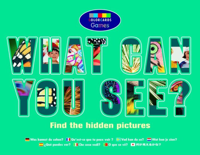 Colorcards - What Can You See?