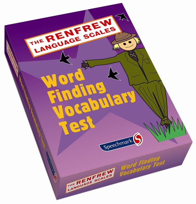 Word Finding Vocabulary Test Revised Edition