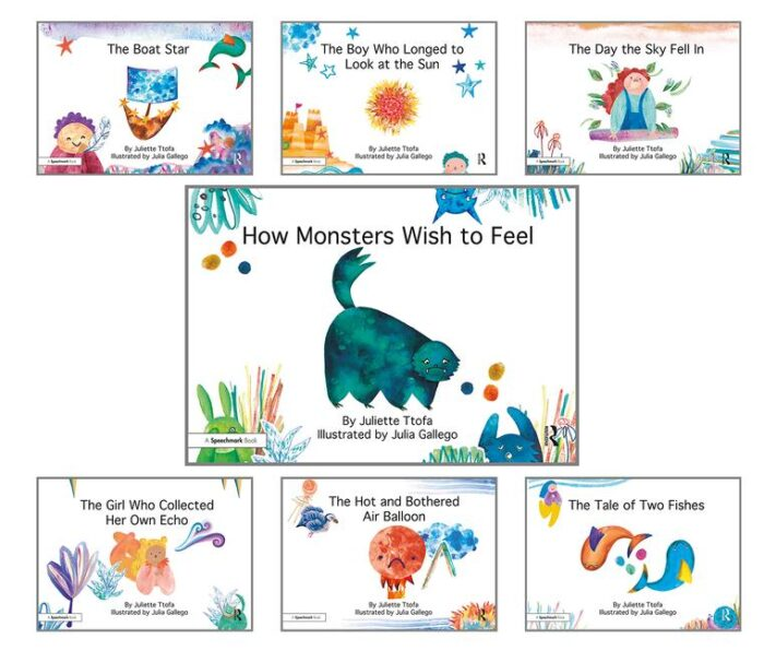 How Monsters Wish to Feel and other picture books