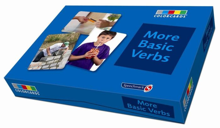 Colorcards - More Basic Verbs